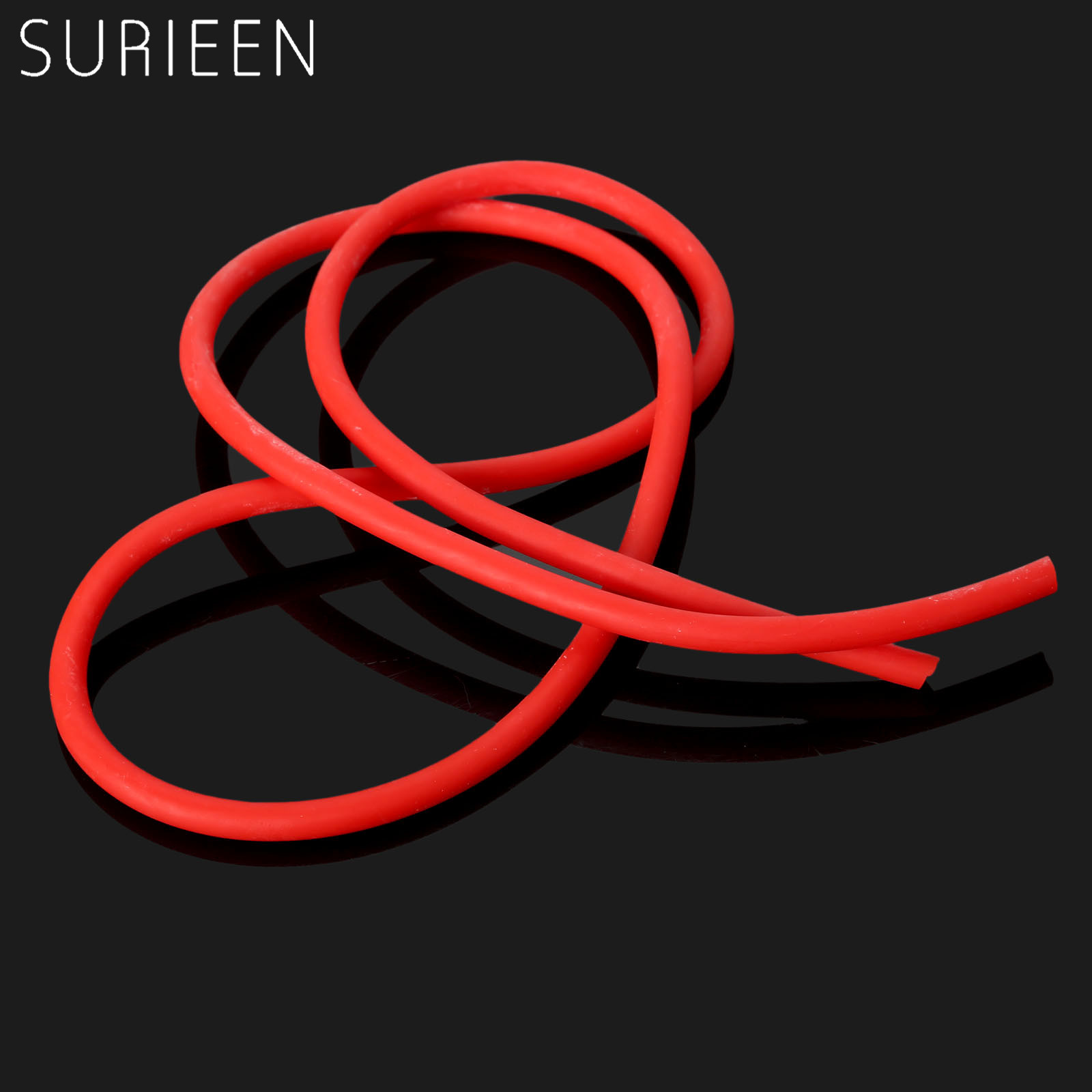 Red Strong 3060 Natural Latex Elastic Parts Rubber Band Tube Tubing Hunting Slingshot Catapult Bow Arrow Accessories 3x6mm 1M