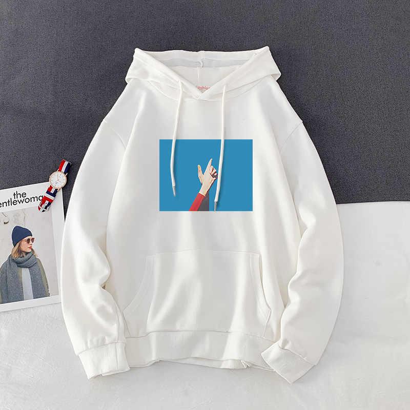 Zwart Herfst Hoodies Met Hoed En Najaar Losse Japanse Witte Eenvoudige Jeugd Jas Hoodie Mode Toevallige Sweater GG50wy