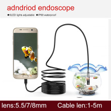 snake camera for android mobile endoscope inspection camera smartphone waterproof endoscope inspection camera mini pipe camera цены