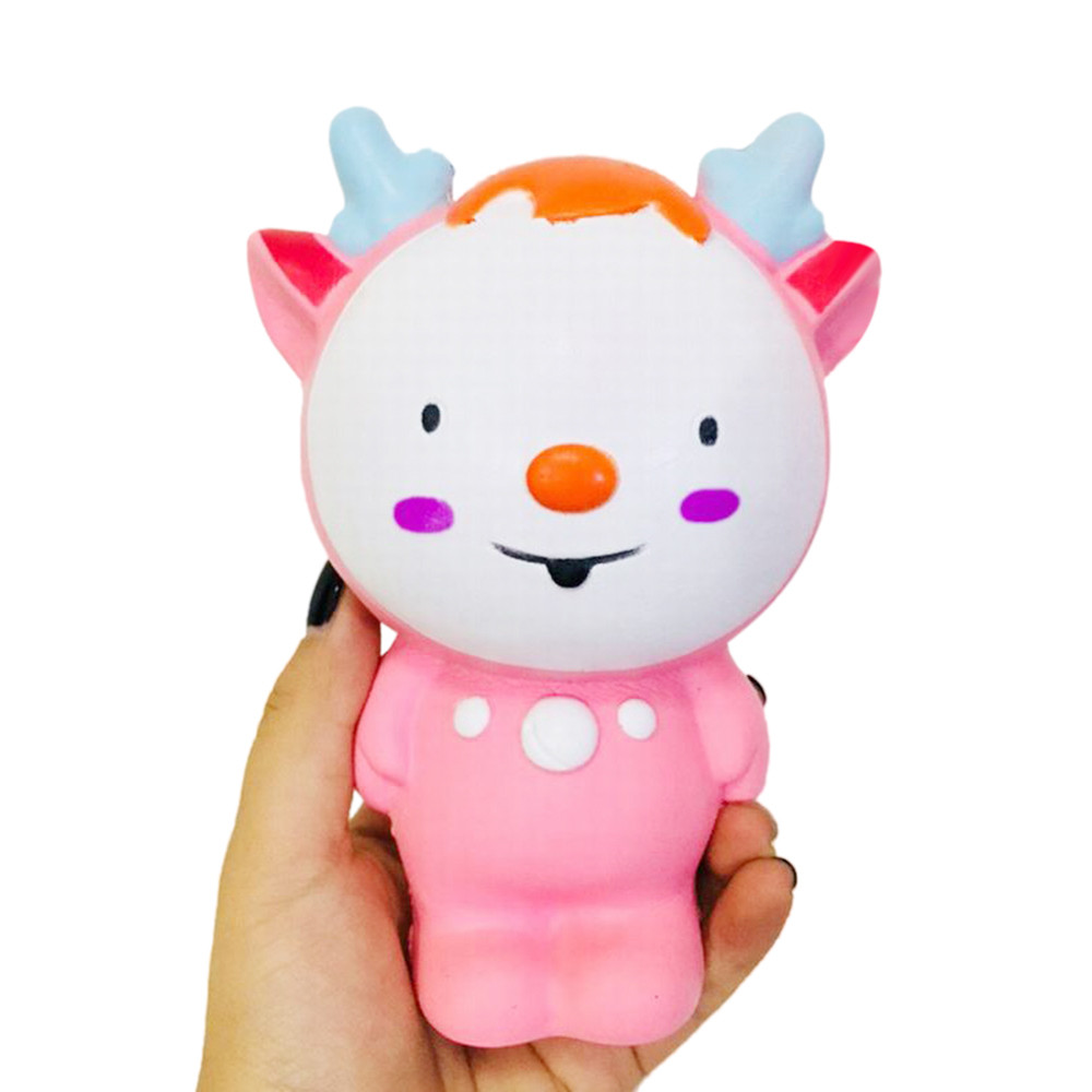 Fawn Elf Scented Slow Rising Collection Squeeze Stress Reliever Toy Gadget Fun Squisy Novelty Stress Relief Sport L107