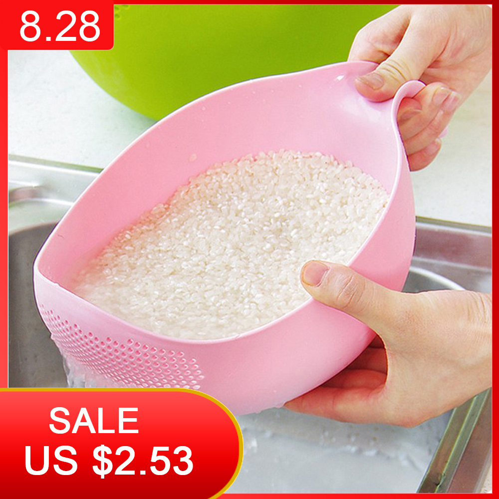 Plastic Colander Strainer-Basket Beans-Sieve Fruit-Bowl Kitchen-Tools WASHING-FILTER