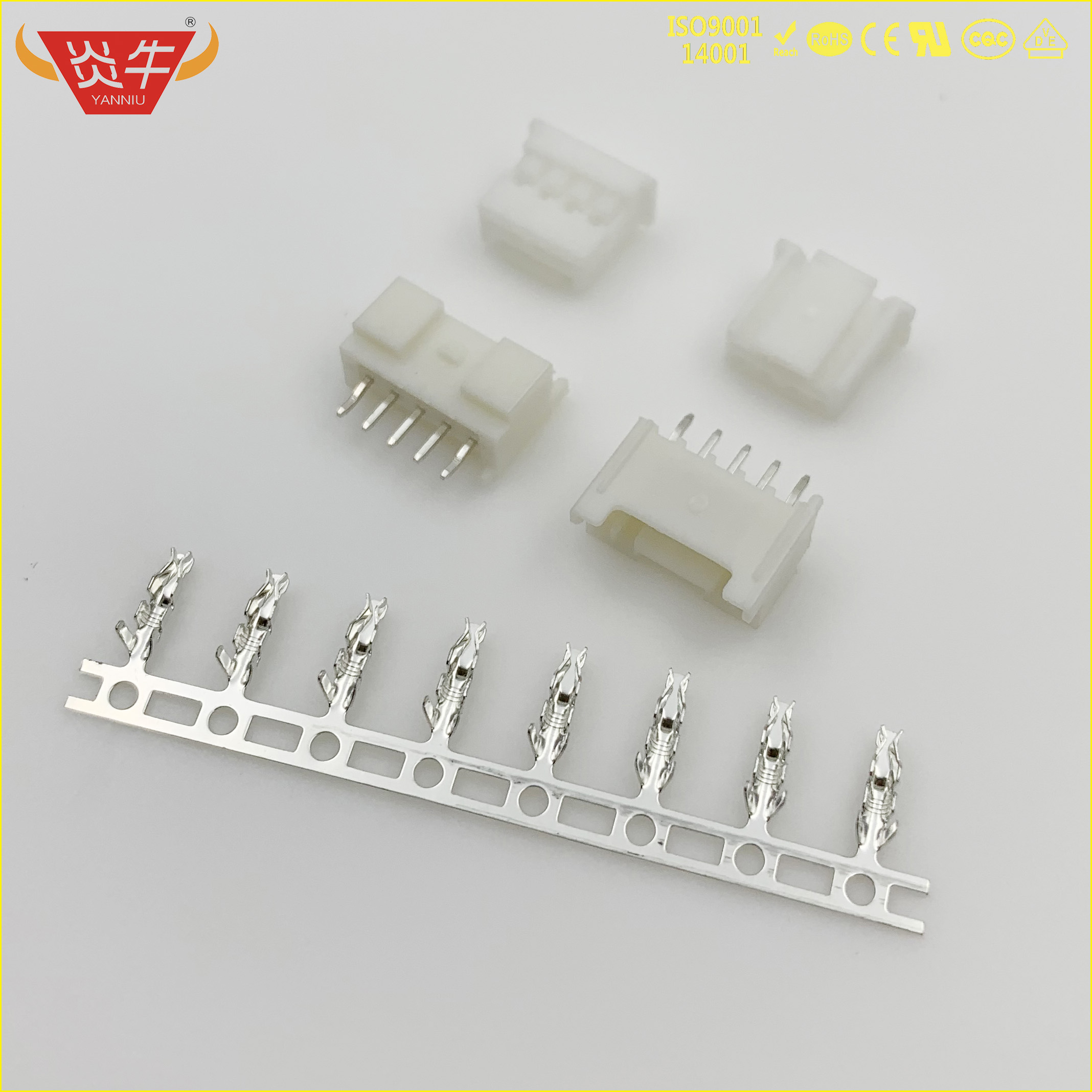 PA 2.0 SMT WHITE STRIP CONNECTOR 2.0mm HOUSING WAFER TERMINAL HX20006-PT HX20018-Y HX20018-A MOLEX JST