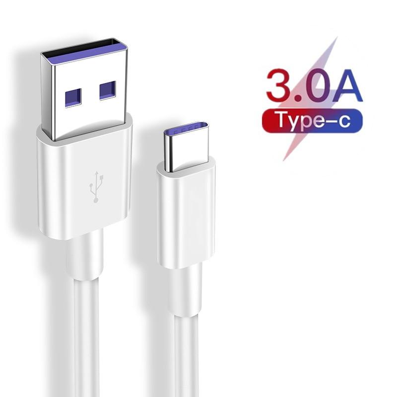 Оригинальное USB зарядное устройство Type-C для Samsung Galaxy A21s S20 A51 A71, кабель для быстрой зарядки 3 м/1,5 м/2 м/1 м для Realme 6 s Pro X3 X50m