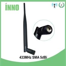 1pcs lot FREE SHIPPING 433MHz antenna folding glue stick antenna wireless module serial port стоимость