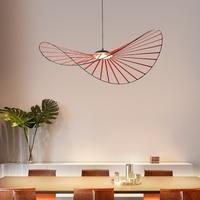 LED Hat vertigo pendant lamp Living room Bedroom Kitchen suspension vertigo colorful Lamp Shades Loft Industrial Chandelier