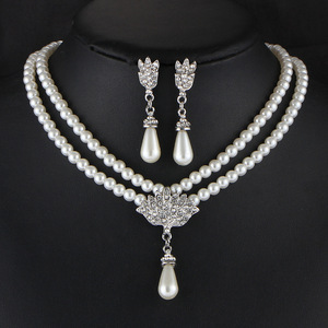 European and American Jewelry Bride Pear