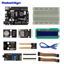 KIT:UNO R3 with sensors for Tempreture and Moisture compatible with Arduino IDE for DIY Ele