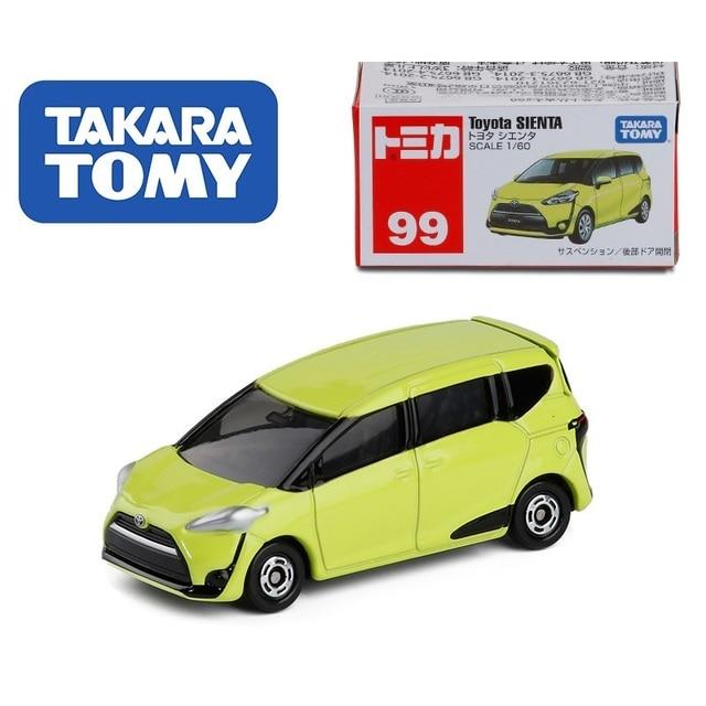 TAKARA TOMY Tomica Toyota Crown SIENTA Vellfire Alphard FJ Cruiser Prius HIACE AE86 C-HR 2000GT Passo Die-cast Model Car toys