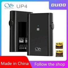 Shanling UP4 Bluetooth Amp נייד דיגיטלי אודיו מפענח משולב מכונת LDAC מקלט מאוזן פלט אוזניות מגבר