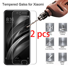 2pcs! Screen Protector for Xiaomi Mi 9T 9 SE 8 Pro Lite 6 Tempered Glass Toughed 9H HD Protective Glass on Xiaomi Mi 5C 5S Plus hot tempered glass for xiaomi mi 5 5 15 on phone protective screen for xiaomi mi 5 5s plus 4s 4c 5c