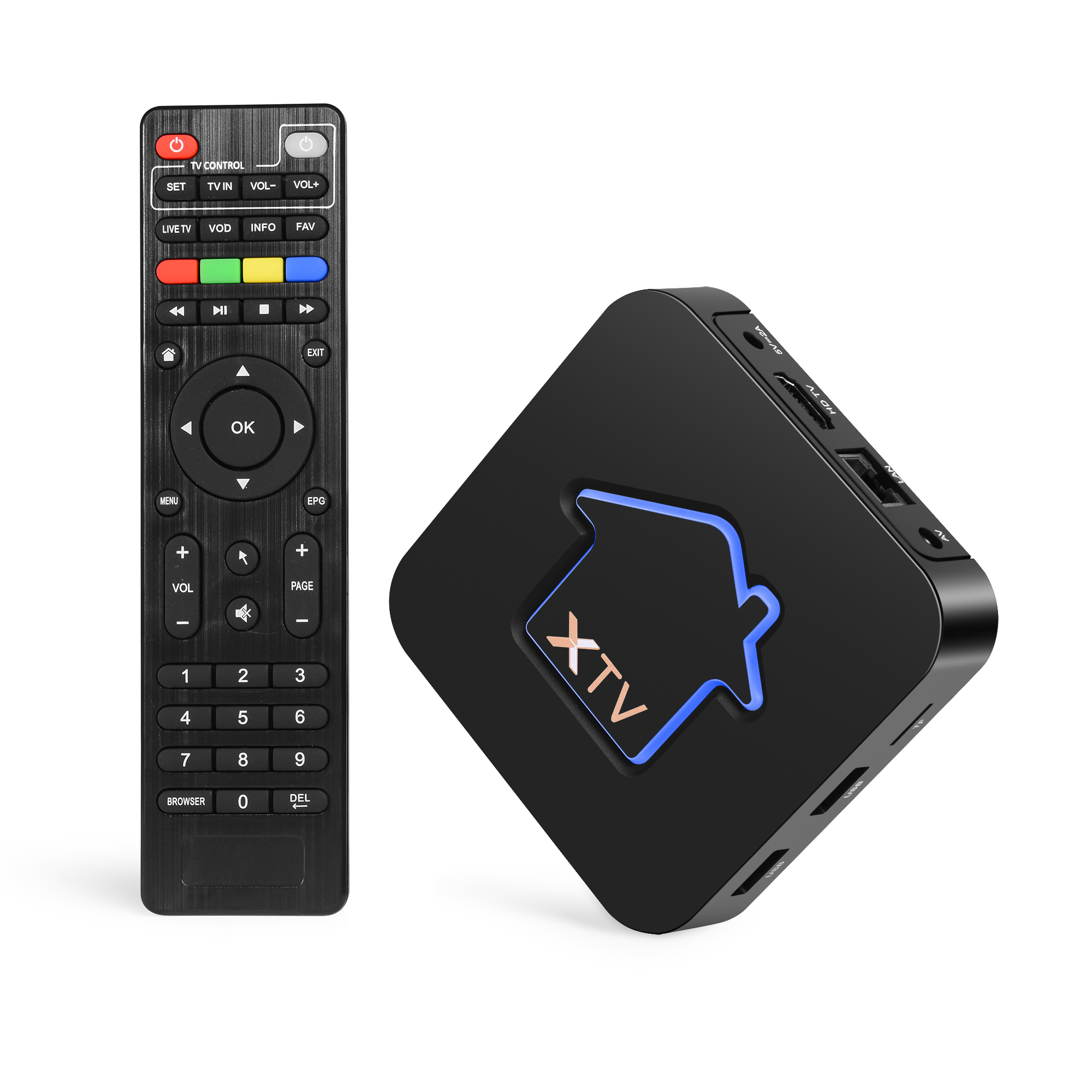 MyTV Android 7.1 IP TV Box Profreeional Stalker IPTV With Iptv Boxes Amlogic S905X Smart Set-top Box