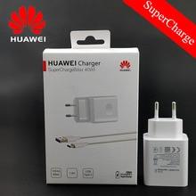Original Huawei Nova 5T adapte 40W SuperCharge FAST CHARGE 5A USB ประเภท C สายสำหรับ P30 Pro p20 Mate 30 20 Honor 9 10 20