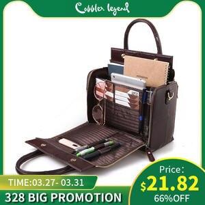 Cobbler Legend многофункциональная большая сумка из натуральной кожи вместительный Органайзер сумка через плечо для женщин 2019 женская сумка