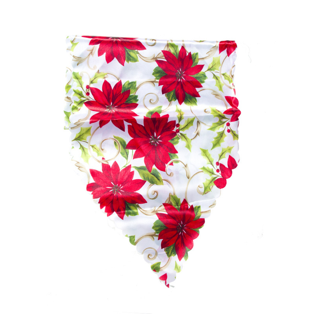 Table Runners Modern Christmas Print Table Flag Ornament Home Hotel Restaurant Decoration 35*180cm Decorations For Home