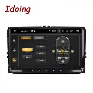"""Image 2 - Idoing 9 """"Универсальный Автомобильный Android 9,0 Радио мультимедийный плеер для Volkswagen Golf Poloskoda Октавия Рапид радио Tiguan Passat B7 B6"""