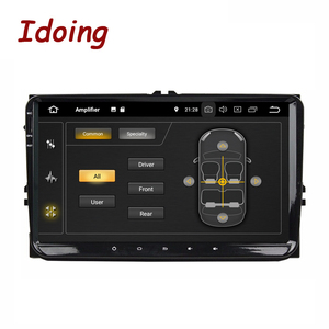 "Image 2 - Idoing 9""Universal Car Android 9.0 Radio Multimedia Player For Volkswagen Golf Poloskoda rapid octavia Radio Tiguan Passat B7 B6"