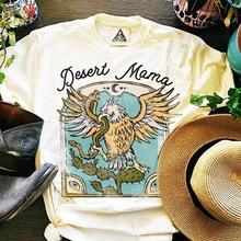 Hillbilly 70s 80s vintage gráfico grunge t branco algodão solto em torno do pescoço manga curta tops plus size harajuku camisa feminina t