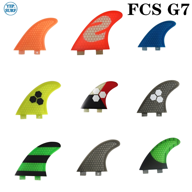 Surf FCS Fin G7 Honeycomb Molde Fin Fins Surfboard Fins Prancha Quilhas De Surf Fins