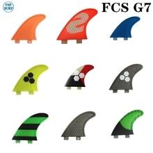 цена на Surf FCS Fin G7 Honeycomb Molde Fin fins Surfboard Fins prancha quilhas de Surf Fins
