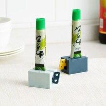 1 шт., пластиковый держатель для зубной пасты, 4 цвета