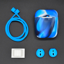 5 in 1 Silicone Cover Case Earphone Set for Airpods Headset Earhook Accessories