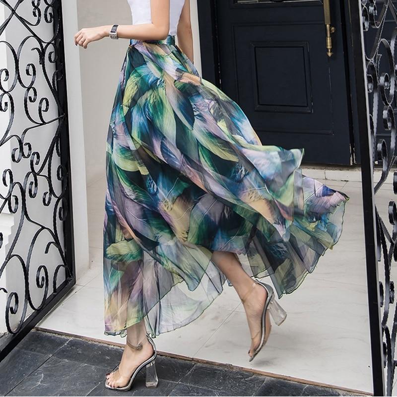 Женская однотонная длинная юбка, трикотажная стрейчевая юбка-карандаш большого размера с высокой талией, черная длинная юбка