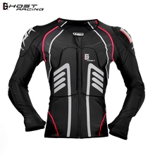 GHOST RACING Cycling Jacket Motorcycle Soft Armor Full Body Protector  Riding Protective Gear Chest Shoulder Protection