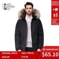 Blackleopardwolf 2019 winter down jacket men thick parka men Alaska Windproof Detachable outwear luxury fur BL 1002M