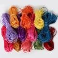 1mm 1,5mm 2mm Mix Farben Nylon Gewachste Linie Polyester Baumwolle Nylon Cord Gewinde Runde Seil String DIY nähen Zubehör