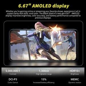 Image 4 - DHL משלוח הגלובלי גרסה שחור כריש 4 5G משחקים נייד טלפון 6.67 אינץ Snapdragon 870 אוקטה Core 48MP לשלושה מצלמה BlackShark 4