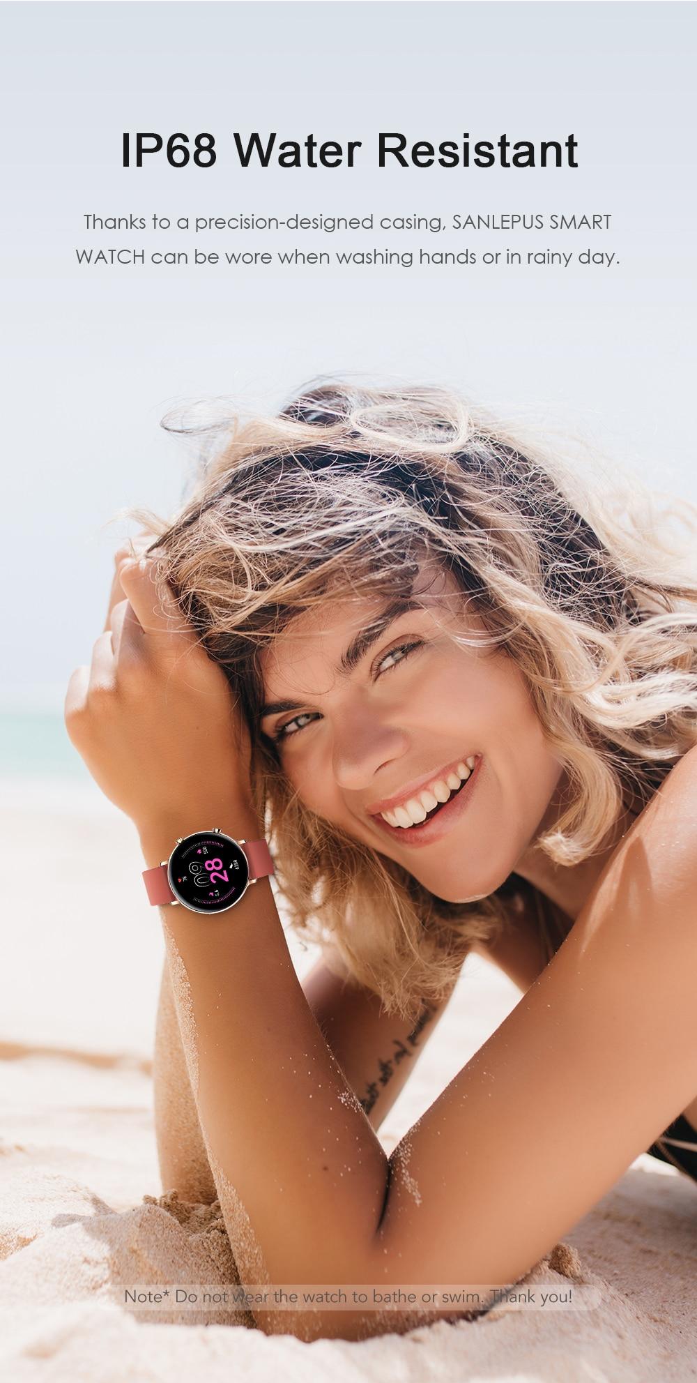 H2d7e804e13244b478de82f98ce38ddffb SANLEPUS 2021 Smart Watch Dial Calls Men Women Waterproof Smartwatch ECG PPG Fitness Bracelet Band For Android Apple Xiaomi