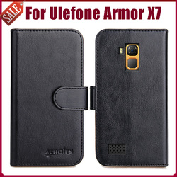 На Алиэкспресс купить чехол для смартфона hot! ulefone armor x7 case 5дюйм. high quality 6 colors flip soft leather phone wallet cover for ulefone armor x7 case