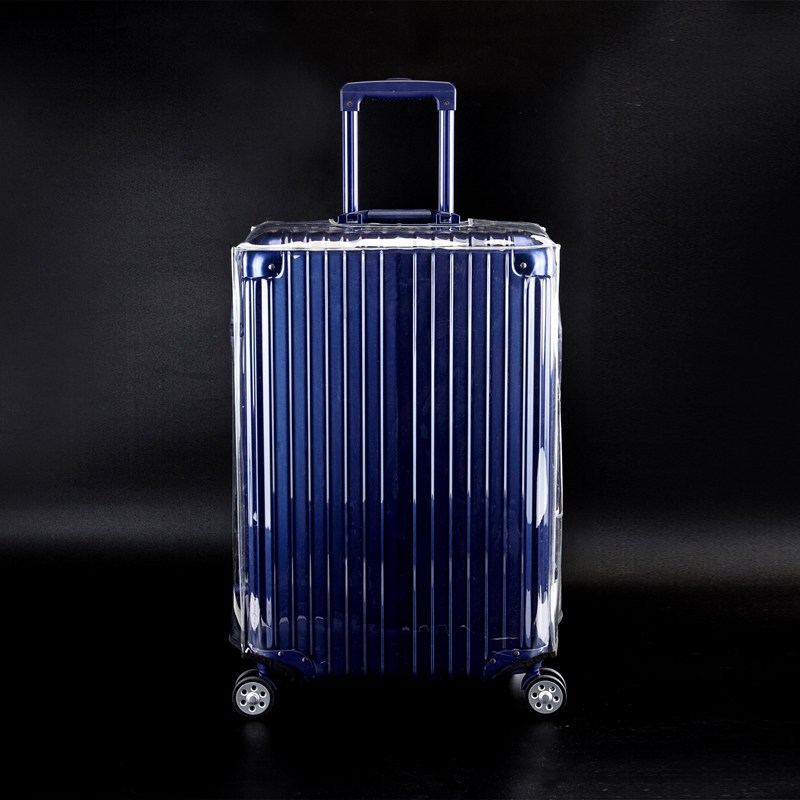 New PVC Transparent Luggage Case Cover High Quality Wateproof Dustproof Travel Bag Cover Clear Suitcase Cover Size 20-32inch
