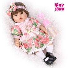 Jouets de jeu pour enfants 48cm, poupées vivants bébé Reborn pour filles, Style princesse réaliste Menina, cadeaux danniversaire Surprise de noël pour enfants
