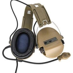 Image 5 - Tactical Softair Sordin słuchawki Pickup słuchawki z redukcją hałasu polowanie Airsoft ochrona słuchu słuchawki DE