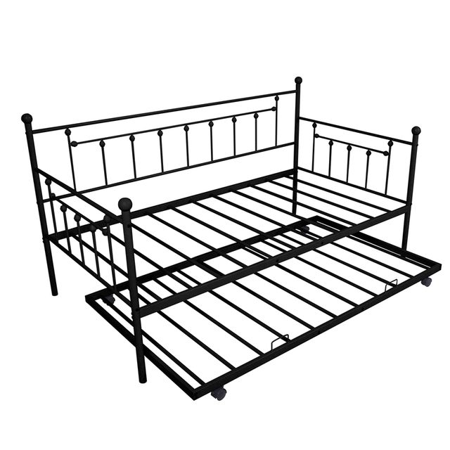 Daybed Sofa Steel Bed Frame With Trundle  1