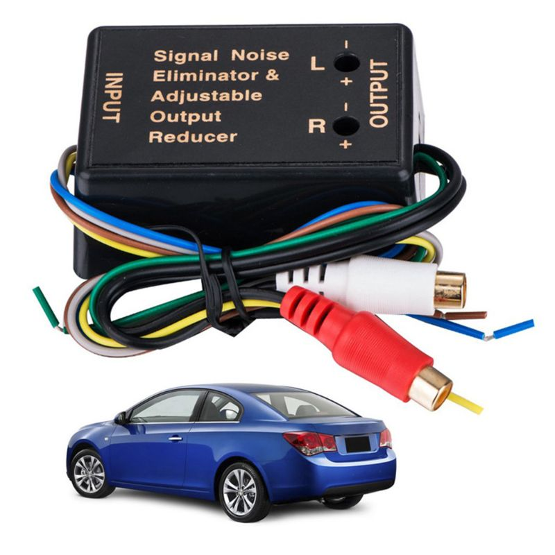 Car Amplifier Bass High Frequency to Low Frequency Converter RCA Level Control A2UC