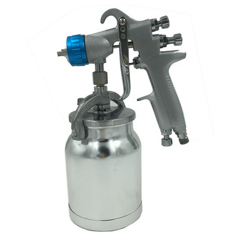 Spray Gun 1.3mm Nozzle Stainless Steel Nozzle Auto Car Paint Spot Repair Aluminum  Cup Sprayer LVMP Spray Gun