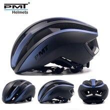 PMT casque de vélo ultraléger, équipement de sécurité, moulé à lintérieur, pour vtt, cyclisme sur route, pour vtt