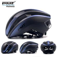 Pmt自転車ヘルメット超軽量ロードサイクリングヘルメットintergrally成形mtbロードバイク安全ヘルメットcasco ciclismo