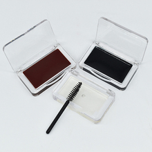 Colored Brow Styling Soap Private Label Eyebrow Cream Brown Eyebrow Soap Eyebrow Wax Eyebrow Gel No Logo Transparent Packaging