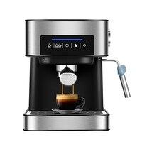 ITOP 20Bar ماكينة صنع قهوة اسبريسو ماكينة الفولاذ المقاوم للصدأ ماكينة القهوة شبه التلقائي المنزلية الايطالية صانع القهوة 850 واط