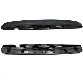 цена на For Nissan Qashqai j10 2007 - 2015 Rear Trunk Lid Tailgate Handle Cover Trim Molding Car trunk tail cover tail door handle trim