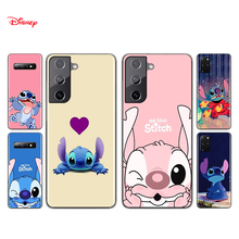 Silicone Cover Cute Lilo Stitch For Samsung Galaxy S21 S20 FE Ultra S10 S10E Lite S9 S8 S7 Edge Plus Phone Case