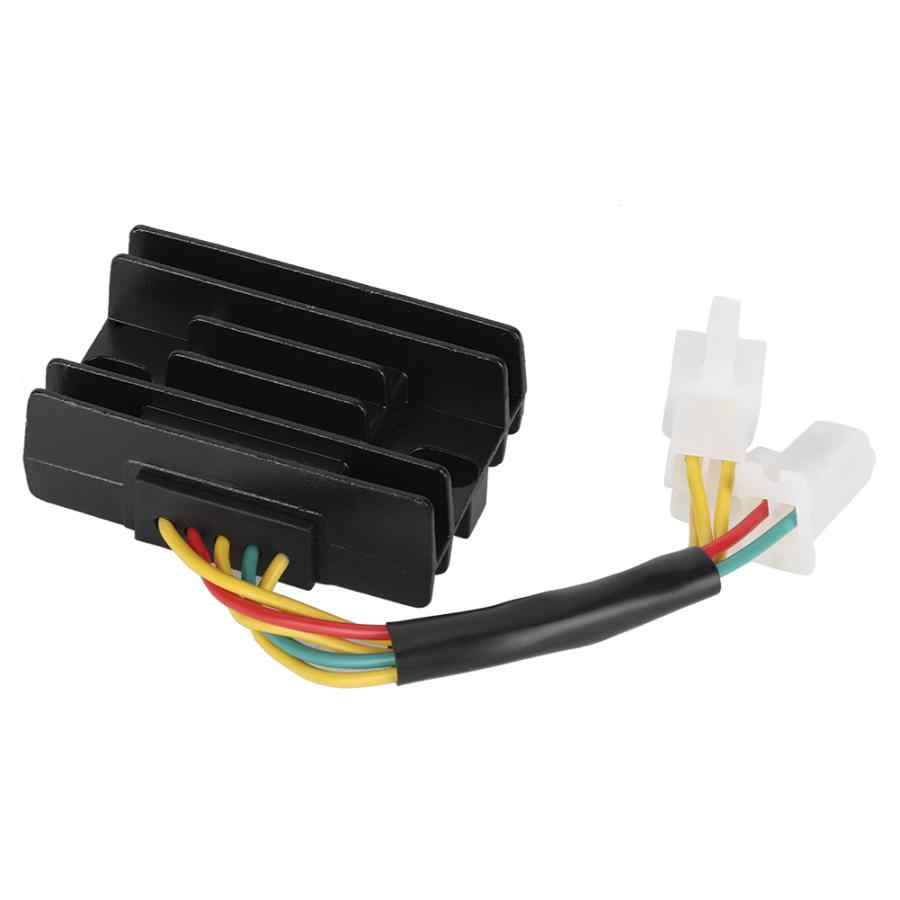 Regulador de voltaje Rectificador regulador de voltaje para Suzuki GN125 1982-83 91-97 GZ250 1999-00 02-10