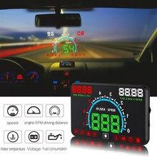 GEYIREN E350 Auto HUD Head-Up Display OBD2 Digital Tacho Windschutzscheibe Projektor Überdrehzahl Alarm Wasser temp RPM Spannung