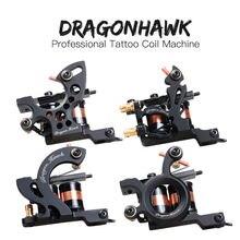 4 шт профессиональные тату машины dragonhawk тонкая подкладка