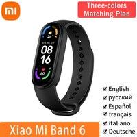 Xiaomi Mi Band 6 Globale Version Smart Armband Wasserdichte Fitness Armband MiBand6 1.56