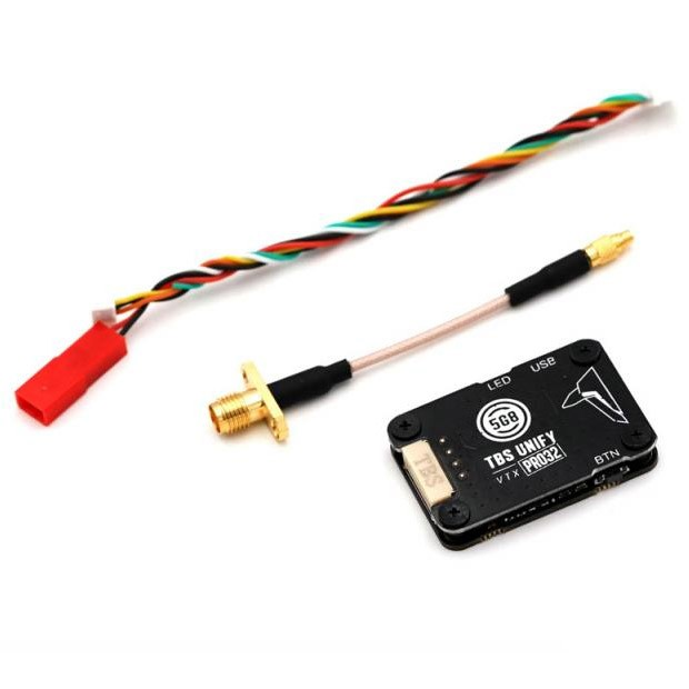 Original  TBS Unify Pro32 5G8 5.8Ghz 1000mw 1w HV Video Transmitter With MMCX Connector For RC Racing Drone RC Model