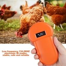 Считыватель для животных ручной ID домашних животных мини портативный микрочип сканер RFID Электронный идентификационный карты трекеры аксессуары для собак